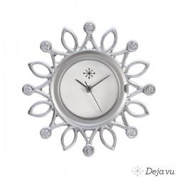 Deja vu sierschijf  Zilver Vorm: Quadrat Doorsnede: ca. 37 mm Diepte: ca. 2 mm zilver 925, , handbewerkt.